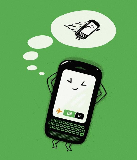 Ventajas del modo vuelo en el móvil